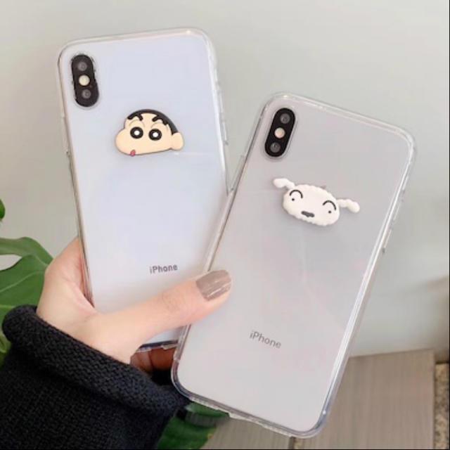 ミラー 付き iphone8 ケース / iPhone XR クレヨンしんちゃん スマホケースの通販 by 02|ラクマ