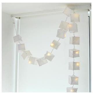ツェツェ アソシエ LED キュービスト ガーランド ライト ホワイト