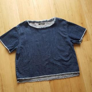 バンヤードストーム(BARNYARDSTORM)のバンヤードストーム オーバーデニムブラウス(シャツ/ブラウス(半袖/袖なし))