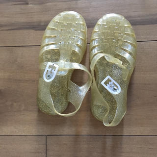 キャラメルベビー&チャイルド(Caramel baby&child )のmeduce ゴールド (サンダル)