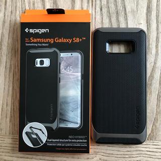 シュピゲン(Spigen)の★Spigen★Galaxy S8+対応★米軍MIL規格取得(ガンメタル)(Androidケース)