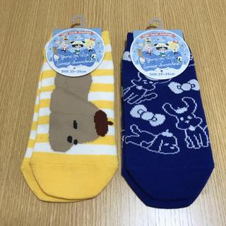 シマムラ(しまむら)のユーリ!!! on ICE サンリオ 靴下(キャラクターグッズ)