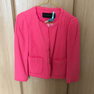 f79439d878da7 ザラ ピンク テーラードジャケット(レディース)の通販 100点以上