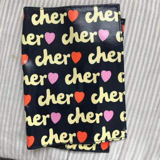 Cher - cher シェル⚫手帳カバー  ブックカバー