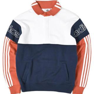 アディダス(adidas)のadidas originals アディダス ポロシャツ ビンテージ トレーナー(Tシャツ/カットソー(七分/長袖))