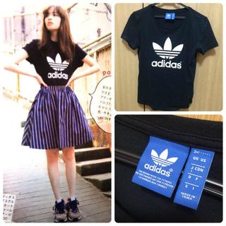 アディダス(adidas)のadidas❤︎ロゴTシャツ(Tシャツ(半袖/袖なし))