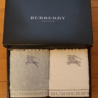 バーバリー(BURBERRY)の新品未使用 バーバリー ウォッシュタオル 2枚セット(タオル)