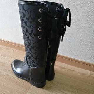 コーチ(COACH)の☆専用☆COACHレインブーツ8M(レインブーツ/長靴)