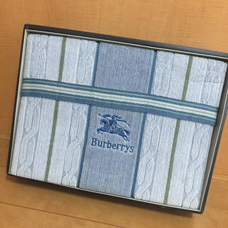 バーバリー(BURBERRY)のひろま様専用✴️バーバリー  タオルケット タオル 未使用(タオルケット)