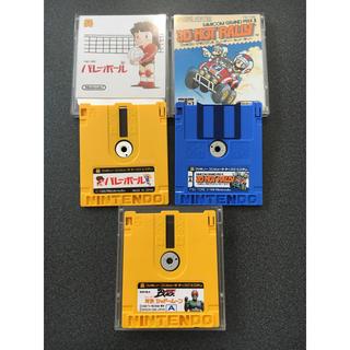 ファミリーコンピュータ(ファミリーコンピュータ)のファミコン ディスクシステム 3Dホットラリー マリオブラザーズ2 バレーボール(家庭用ゲームソフト)