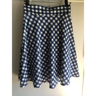 ハニーズ(HONEYS)のギンガムチェックスカート(ひざ丈スカート)