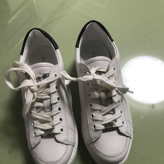 5edaba63665a コーチ(COACH) 白スニーカー 靴/シューズの通販 36点 | コーチの ...