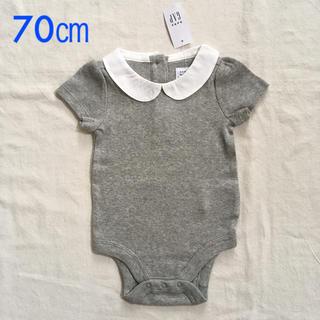 8eb7650c32ae9 ベビーギャップ(babyGAP)の『新品』babyGap 女の子用 襟付き半袖ボディ