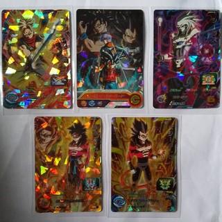 ドラゴンボール(ドラゴンボール)のドラゴンボールヒーローズ5枚(シングルカード)