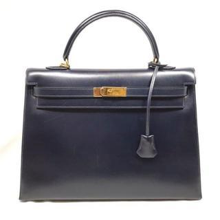 エルメス(Hermes)の2984 HERMES エルメス ケリー35 外縫い ハンドバッグ(ハンドバッグ)