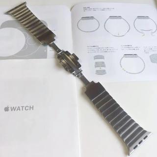 Apple Watch - リングブレスレット アップル正規品 Apple Watch 42mm 44mm用