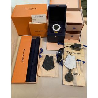 ルイヴィトン(LOUIS VUITTON)のルイヴィトン タンブール  ホライゾン V2 ホワイトセラミック(腕時計(デジタル))