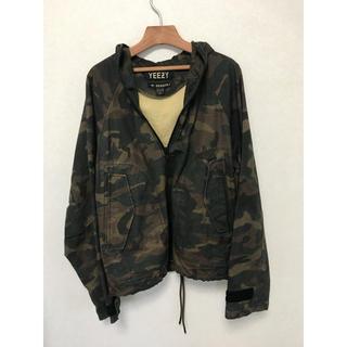 アディダス(adidas)のAdidas Yeezy Season 1 Thin Camo Jacket (ミリタリージャケット)