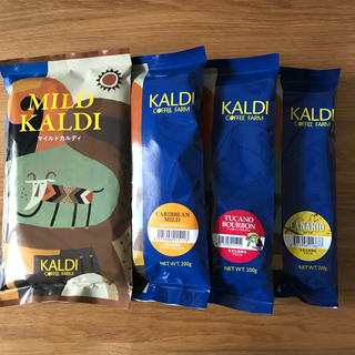 カルディ(KALDI)のKALDI カルディコーヒー豆  4種 詰め合わせ  ②(コーヒー)