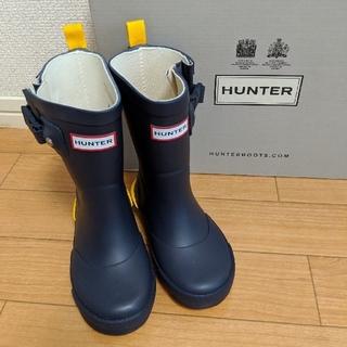 ハンター(HUNTER)のHUNTER キッズレインブーツUK7(長靴/レインシューズ)