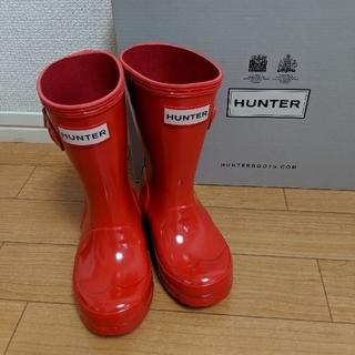 ハンター(HUNTER)のHUNTER キッズレインブーツUK8(長靴/レインシューズ)