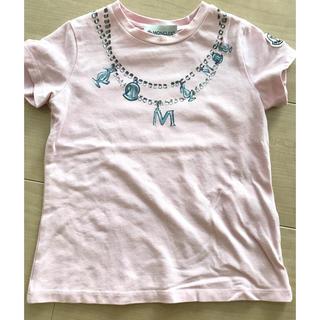 モンクレール(MONCLER)のモンクレール Tシャツ ネックレス柄 袖ワッペン 2A(Tシャツ/カットソー)