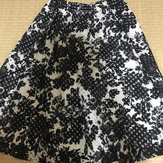 ベルメゾン(ベルメゾン)の花柄スカート(ひざ丈スカート)