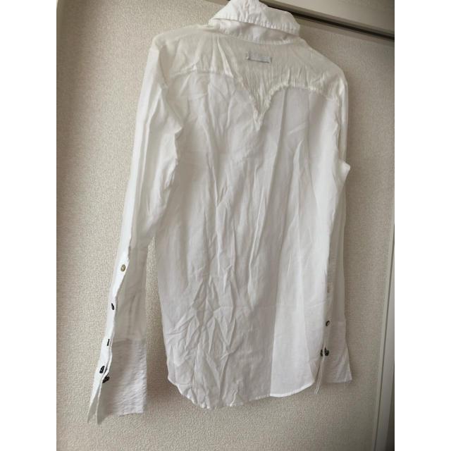 LGB(ルグランブルー)のIFSIXWASNINEペガサスタキシードシャツメンズ1白 メンズのトップス(シャツ)の商品写真