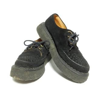 ジョージコックス(GEORGE COX)の【定価¥51840】ジョージコックスUK8黒ギブソン3588ブラックスエード(ブーツ)