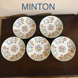 ミントン(MINTON)のミントン プレート 5枚揃い*新品未使用(食器)