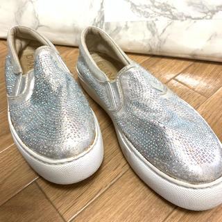 ダイアナ(DIANA)のDIANA ダイアナ シルバー キラキラ 靴 スニーカー(スニーカー)