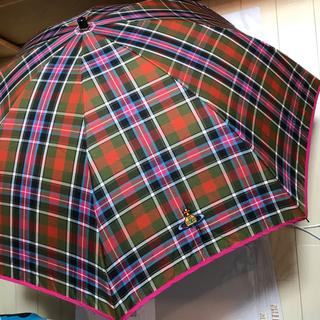 ヴィヴィアンウエストウッド(Vivienne Westwood)のVivienne Westwood ブルースオブキンナードタータン 折り畳み傘(傘)