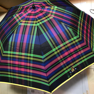 ヴィヴィアンウエストウッド(Vivienne Westwood)のVivienne Westwood メトロポリタンタータン 折り畳み傘(傘)