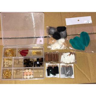 キワセイサクジョ(貴和製作所)のハンドメイド ピアス 素材セット(各種パーツ)