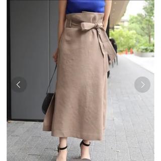 ノーブル(Noble)のNOBLE オーバータックロングタイトスカート(ロングスカート)