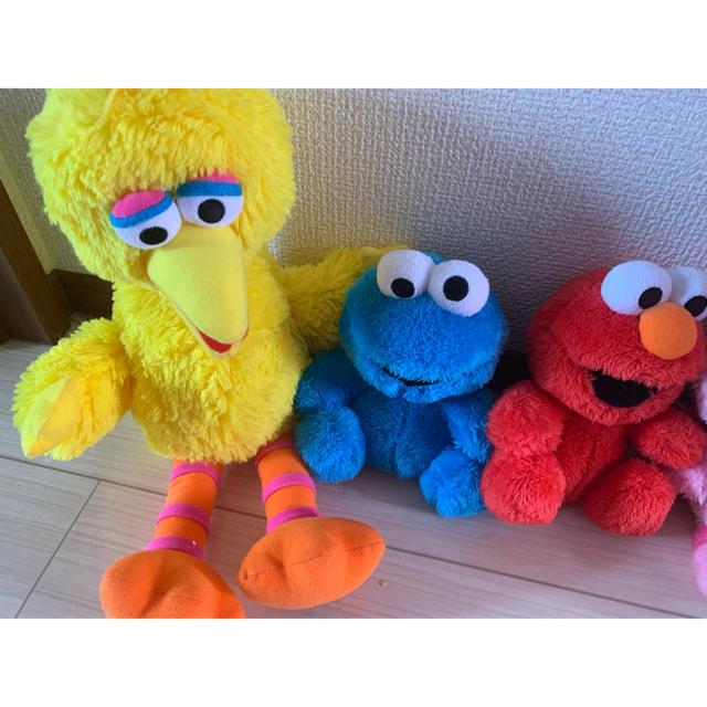 SESAME STREET(セサミストリート)のユニバ セサミストリート ぬいぐるみ セット お買い得 エンタメ/ホビーのおもちゃ/ぬいぐるみ(ぬいぐるみ)の商品写真