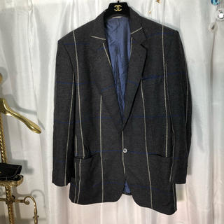 ジャンニヴェルサーチ(Gianni Versace)のistante イスタンテ VERSACH チェック柄 ジャケット 正規品(テーラードジャケット)