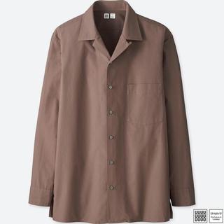 ユニクロ(UNIQLO)のユニクロユー オープンカラーシャツ(シャツ)