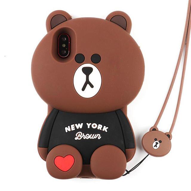 ニューヨークブラウンiPhone6から XR. XSMAXまでの通販 by GV kim's shop|ラクマ