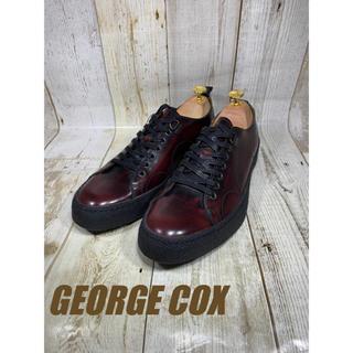 ジョージコックス(GEORGE COX)の未使用 ジョージコックス レザースニーカー UK8 26.5cm(ドレス/ビジネス)