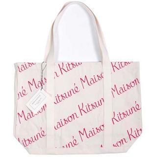 メゾンキツネ(MAISON KITSUNE')の💎新品💎 MAISON KITSUNE ブランド ストライプ トートバッグ(トートバッグ)