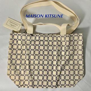 メゾンキツネ(MAISON KITSUNE')の💎新品💎 MAISON KITSUNE 2-way ハンドル ミニ トート(トートバッグ)
