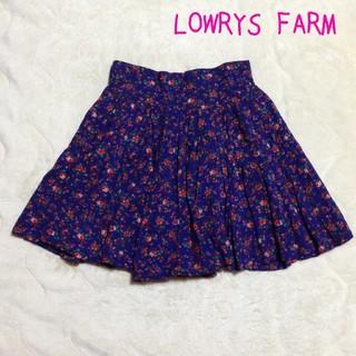 ローリーズファーム(LOWRYS FARM)のLOWRYS FARM 花柄スカート(ミニスカート)