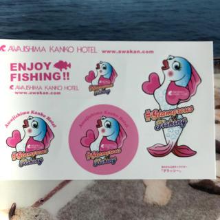 釣り ステッカー(釣り糸/ライン)