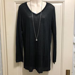 エタミンヌ(ETAMINNE)のetaminne   VネックロンT(Tシャツ(長袖/七分))