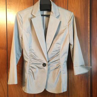 オフオン(OFUON)のオフオン ofuon palette グレー ジャケット 綺麗 1.8万(テーラードジャケット)