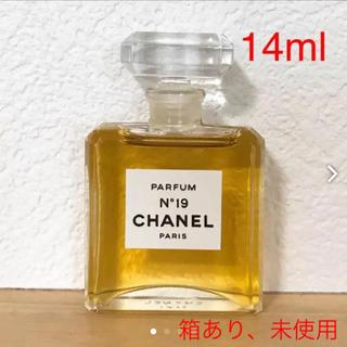シャネル(CHANEL)の【未使用】CHANEL 香水 N°19(14ml)(その他)