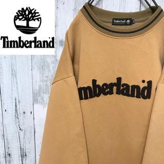 ティンバーランド(Timberland)のティンバーランド☆ビッグロゴ ビッグシルエット スウェット トレーナー(スウェット)