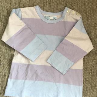 アニエスベー(agnes b.)のアニエスベーアンファン ボーダーTシャツ 80(Tシャツ)