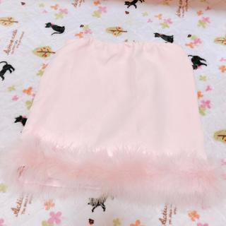 ダチュラ(DaTuRa)の裾フェザータイトスカート(ミニスカート)